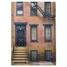 Alexander's House New York City by André Renoux 1998 Vintage Postcard