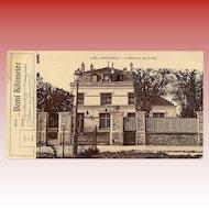 Free Demi Kilometre Train Ride Antique French Postcard