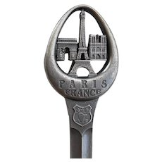 Eiffel Tower Paris Letter Opener Made in France