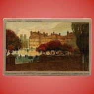 Linen Transparent Liquor Advertisement Postcard Paris 1912