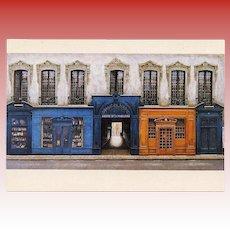 Galerie de la Madeleine Vintage Paris Postcard by André Renoux