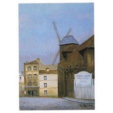 Moulin de la Galette by French Painter André Renoux