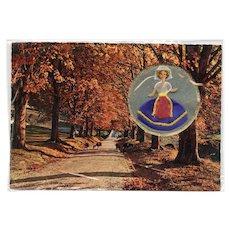 LAST CHANCE: Grasse Fragonard Perfume Novelty Postcard with Doll