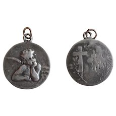 1915 French Silver Medal with Raphael's Cherub