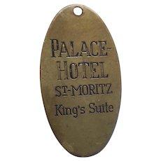 Badrutt's Palace Hotel King's Suite Fob St. Moritz Switzerland