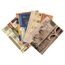 Bin Kashiwa 1977 Cremaillere and Three Paris Postcards