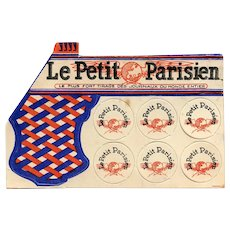 Le Petit Parisien French Newspaper Advertising Giveaway Pop Gun Pre WWII