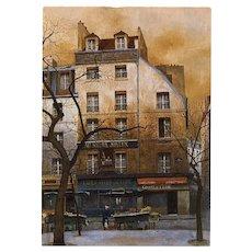Au Negre Joyeux Rare Vintage Renoux Postcard Unused