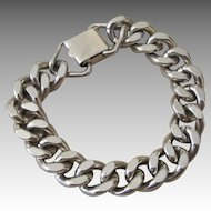 SPERRY- vintage chunky signed link bracelet