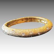 Kenneth Lane- vintage clamper bracelet