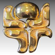 GROSSE- Signed Runway Brooch
