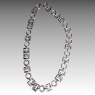 VENDOME- signed dramatic necklace