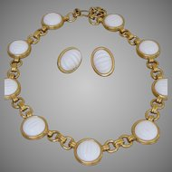 MONET- Quality Necklace and Pierced Earrings Set