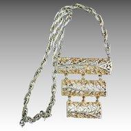 Vintage Lucien Piccard Runway Necklace