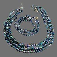 VOGUE- signed vintage bracelet and necklace