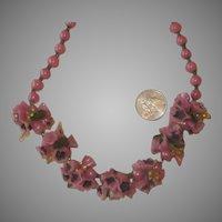 Murano Italian Art Glass Venetian Necklace