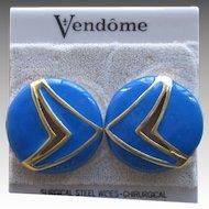 Vendome- Old Stock Vintage Pierced Earrings