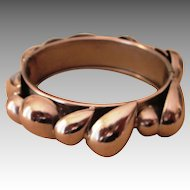 Lee Menichetti Vintage Modernist Signed Runway Bracelet