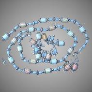 Napier  4 Piece Charm Bracelet, Earrings and Necklaces Vintage Set