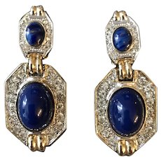 Donald Stannard Couture Runway Vintage Earrings