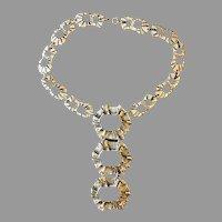 Robert Larin Brutalist  Rare Vintage Runway Necklace