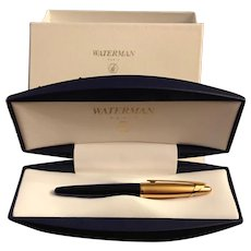 Rare Waterman Edson Sapphire BlueVintge Rollarball Vintage Pen