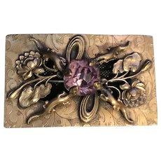 Figural Victorian Antique Sash Brooch Unique