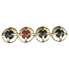 Givenchy Stunning 1980's Vintage High Quality Brooch