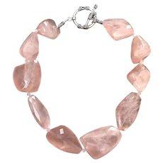 300 Grams Pink Quartz Amazing Quality Necklace