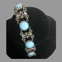 Nettie Rosenstein Rare Early Sterling Silver Bracelet