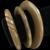 Set of Three Vintage Bakelite Bracelets one Carved