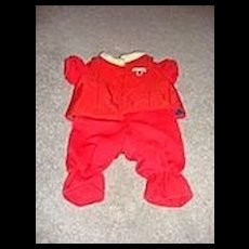 Teddy Ruxpin's Red Flying Outfit