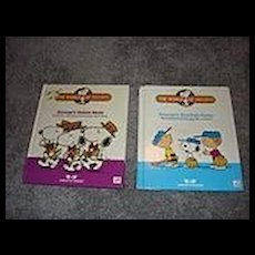 Two Talking Snoopy Books