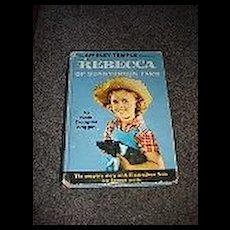 Shirley Temple Edition of Rebecca of Sunnybrook Farm Book