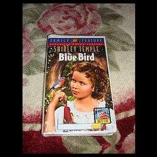 "NRFP Shirley Temple VHS Tape ""The Blue Bird"""