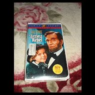 "NRFP Shirley Temple VHS Tape ""The Littlest Rebel"""