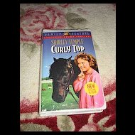"NRFP Shirley Temple VHS Tape ""Curly Top"""