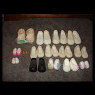 Assorted Size Older Rubber Shoes for Dolls