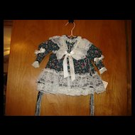 "Doll Dress for 24"" doll"