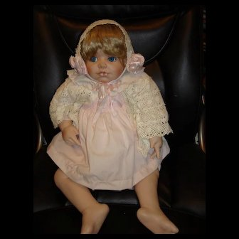 Porcelain Katelyn Doll by Kay McKee 24""