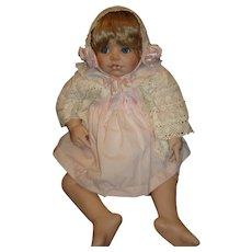 "Porcelain Katelyn Doll by Kay McKee 24"""