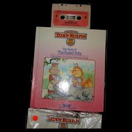 "Teddy Ruxpin Book and Tape ""Sorry of the Faded Fobs"""