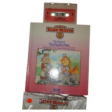 """Teddy Ruxpin Book and Tape """"Sorry of the Faded Fobs"""""""