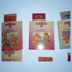 """Teddy Ruxpin Book and Tape """"All About Bears"""""""