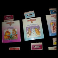 "Teddy Ruxpins Book and Tape ""Teddy's Winter Adventure"""
