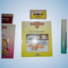 "Teddy Ruxpin Book and Tape ""Teddy Ruxpins Lullabies"