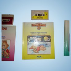 "Teddy Ruxpin Book and Tape ""Teddy Ruxpins Lullabies"