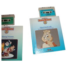 """Teddy Ruxpin Book and Tape """"Take a Good Look"""""""