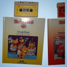 "Teddy Ruxpin Book and Tape ""Grunge Music"""