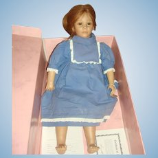 American Heartland Collectible Dolls by Annette Himstedt (Toni 5202 )